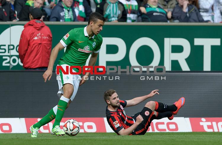 02.05.2015, Weserstadion, Bremen, GER, 1.FBL, Werder Bremen vs Eintracht Frankfurt, im Bild Franco Di Santo (Bremen #9)<br /> <br /> Foto &copy; nordphoto / Frisch