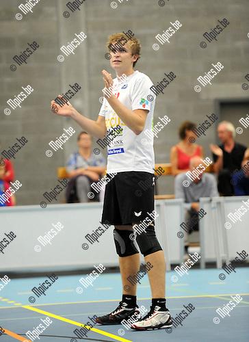 2014-08-30 / Volleybal / seizoen 2014-2015 / Vosselaar / Jellen Liekens<br /><br />Foto: Mpics.be