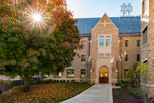 October 14, 2016; Flaherty Hall (Photo by Matt Cashore/University of Notre Dame)