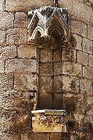 Detail d'une des facades du sanctuaire