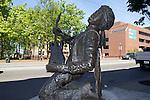 Seattle, Jimi Hendrix statue, Capitol Hill, Broadway, public art,