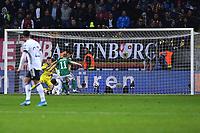 19th November 2019, Frankfurt, Germany; 2020 European Championships qualification, Germany versus Northern Ireland;  Goal for 2-1 by Leon Goretzka Germany