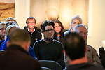 Poetry Day in the Highlanes Gallery.<br /> Picture Fran Caffrey www.newsile.ie