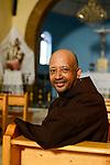 ETHIOPIA , Dire Dawa / AETHIOPIEN, Dire Dawa, katholische Kirche, WMS Gast Kapuziner Fr. Worku Demeke in St. Augustine katholische Kirche