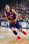 League ACB-ENDESA 201/2019.Game 38.<br /> PlayOff Semifinals.1st match.<br /> FC Barcelona Lassa vs Tecnyconta Zaragoza: 101-59.<br /> Kyle Kuric.