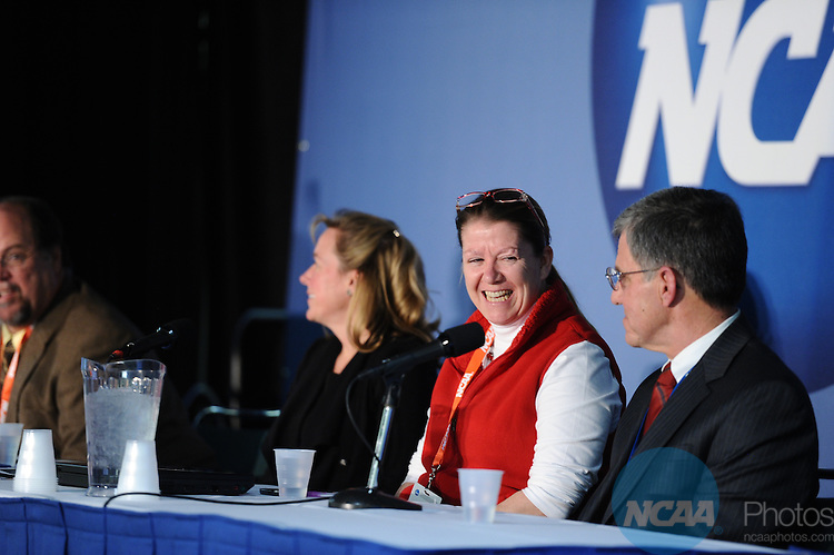 12 JAN 2012: at the 2012 NCAA Convention held at the JW Marriott and Indianapolis Convention Center in Indianapolis, IN.  Stephen Nowland/NCAA Photos
