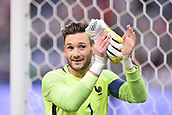 June 13th 2017, Stade de France, Paris, France; International football friendly, France versus England;  Hugo Lloris (fra) applauds the fans at full time as they win 3-2