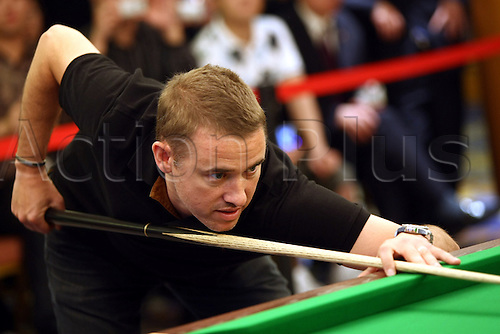 Jun 02, 2010; Wuxi, CHINA; Stephen Hendry of Scotland at a promotional event of the upcoming 2010 World Snooker Wuxi Classic which will be held from Jun 3 to 6 as the first professional tournament of the 2010/11 snooker season.