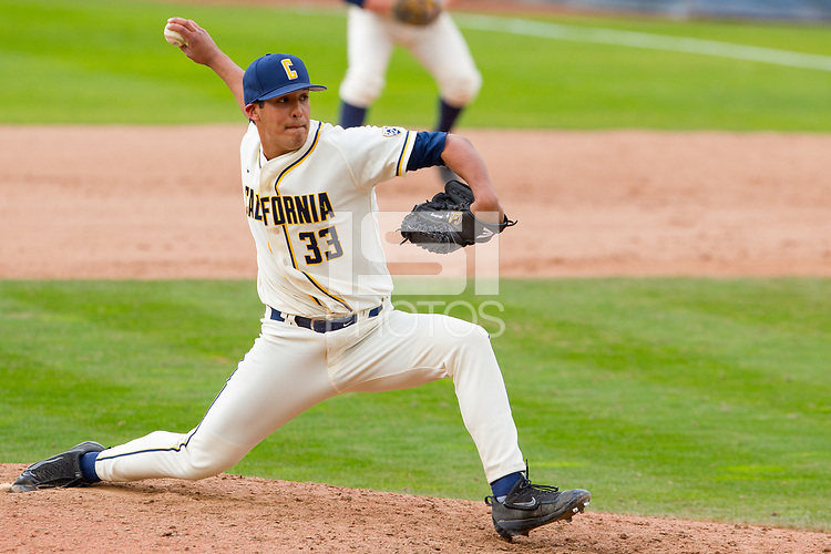 Berkeley, CA - March 4, 2017: Cal vs Gonzaga at Evans Diamond.