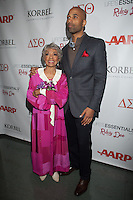 NEW YORK, NY - NOVEMBER 14: Ruby Dee and Muta' Ali at the 'Life's Essentials With Ruby Dee' screening at The Schomburg Center for Research in Black Culture on November 14, 2012 in New York City. Photo by Diego Corredor/MediaPunch Inc. /NortePhoto