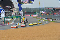 START 24 HOURS OF LE MANS 2013
