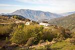 Landscape in the High Alpujarras, near Capileira, Granada Province, Spain