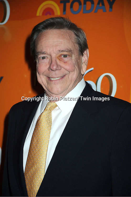 Jim Hartz attends The Today Show's 60th Anniversary celebration party on January 12, 2012 at The Edison Ballroom in New York City.