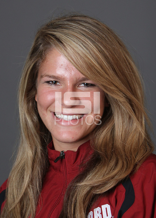 STANFORD, CA - OCTOBER 22:  Mimi Bury of the Stanford Cardinal during water polo picture day on October 22, 2009 in Stanford, California.