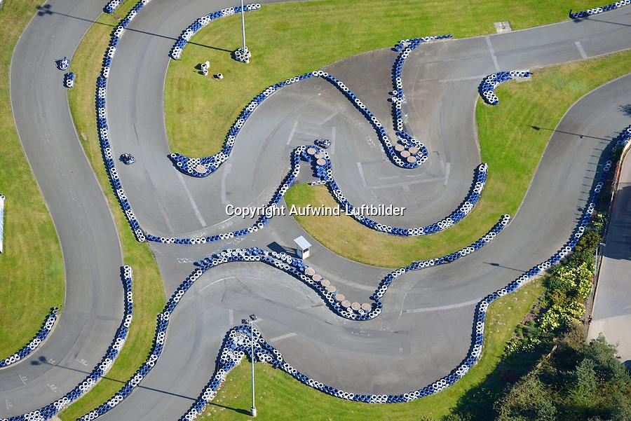 Kartbahn: EUROPA, DEUTSCHLAND, NIEDERSACHSEN, (EUROPE, GERMANY), 28.8.2014: Ralf Schumacher Kartbahn in Bispingen in der Lueneburger Heide
