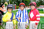 At the Races - Michael Sheehy, Ben Kennedy, Rory King at the Castleisland Races on Sunday