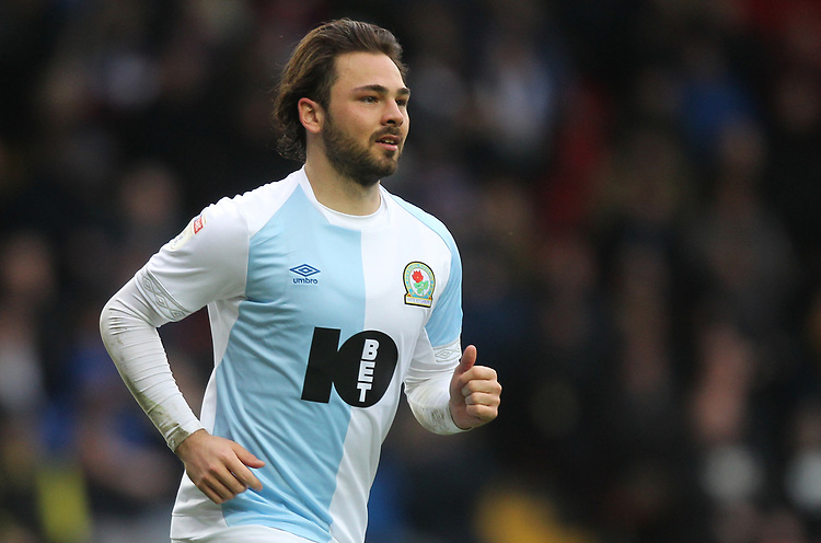 Blackburn Rovers Bradley Dack<br /> <br /> Photographer Mick Walker/CameraSport<br /> <br /> The EFL Sky Bet Championship - Blackburn Rovers v Bristol City - Saturday 9th February 2019 - Ewood Park - Blackburn<br /> <br /> World Copyright &copy; 2019 CameraSport. All rights reserved. 43 Linden Ave. Countesthorpe. Leicester. England. LE8 5PG - Tel: +44 (0) 116 277 4147 - admin@camerasport.com - www.camerasport.com