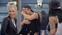 Celebrity Big Brother 2017<br /> Amelia Lily, Sam Thompson and Jemma Lucy.<br /> *Editorial Use Only*<br /> CAP/KFS<br /> Image supplied by Capital Pictures