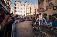MEN UNDER 23 ROAD RACE<br /> Kufstein to Innsbruck: 180 km<br /> <br /> UCI 2018 Road World Championships<br /> Innsbruck - Tirol / Austria