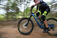 NWA Democrat-Gazette/J.T. WAMPLER  Image from Sunday August 11, 2019 during the Kessler Mountain Jam in Fayetteville. The annual event is sponsored by Fayetteville Parks and Recreation and is part of the Arkansas Mountain Bike Championship Series.