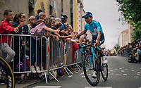 Nairo Quintana (COL/Movistar) at the Team presentation in La Roche-sur-Yon<br /> <br /> Le Grand Départ 2018<br /> 105th Tour de France 2018<br /> ©kramon