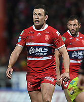 Picture by Anna Gowthorpe/SWpix.com - 02/02/2018 - Rugby League - Betfred Super League - Hull KR v Wakefield Trinity - KC Lightstream Stadium, Hull, England - Hull KR's Shaun Lunt