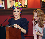 Bette Midler and Katie Finneran attends the 67th Annual Outer Critics Circle Theatre Awards at Sardi's on May 25, 2017 in New York City.