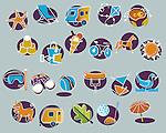 Holiday activiy icons