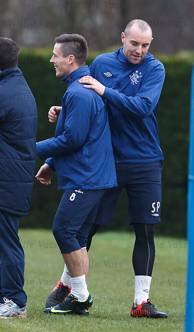 Kris Boyd and Ian Black