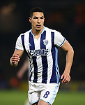WBA's Jake Livermore in action during the Premier League match at Vicarage Road Stadium, London. Picture date: April 4th, 2017. Pic credit should read: David Klein/Sportimage