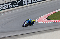 2nd November 2019; Sepang Circuit, Sepang Malaysia; MotoGP Malaysia, Qualifying Day;  The number 36 Team Suzuki ECSTAR rider Joan Mir during qualifying - Editorial Use
