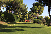The 3rd tee during the Pro-Am of the Challenge Tour Grand Final 2019 at Club de Golf Alcanada, Port d'Alcúdia, Mallorca, Spain on Wednesday 6th November 2019.<br /> Picture:  Thos Caffrey / Golffile<br /> <br /> All photo usage must carry mandatory copyright credit (© Golffile | Thos Caffrey)