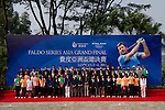 Participants pose for group photo during the 2011 Faldo Series Asia Grand Final on the Faldo Course at Mission Hills Golf Club in Shenzhen, China. Photo by Victor Fraile / Faldo Series