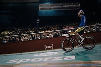 Moreno De Pauw (BEL/SportVlaanderen-Bamoise) celebrating<br /> <br /> Ghent 6day<br /> Belgium 2017