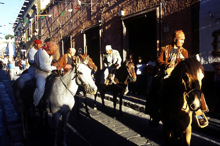 Independence day festivities, San Miguel de Allende, Guanajuato, Mexico 16-9-05