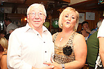 Michael Hussey with Margaret Craig at his surprise 60th in the Market Bar...(Photo credit should read Jenny Matthews www.newsfile.ie)....This Picture has been sent you under the condtions enclosed by:.Newsfile Ltd..The Studio,.Millmount Abbey,.Drogheda,.Co Meath..Ireland..Tel: +353(0)41-9871240.Fax: +353(0)41-9871260.GSM: +353(0)86-2500958.email: pictures@newsfile.ie.www.newsfile.ie.