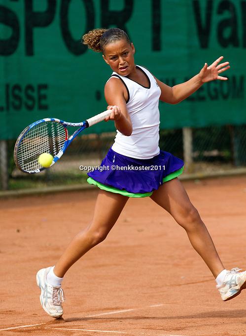 10-08-11, Tennis, Hillegom, Nationale Jeugd Kampioenschappen, NJK, Isabel Hoogvliets