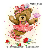 GIORDANO, CUTE ANIMALS, LUSTIGE TIERE, ANIMALITOS DIVERTIDOS, Teddies, paintings+++++,USGI1602,#AC# teddy bears