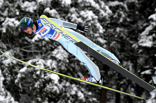 17 12 2010 Ski Nordic FIS WC Engelberg Switzerland  Ski jumping FIS World Cup Picture shows Pavel Karelin RUS