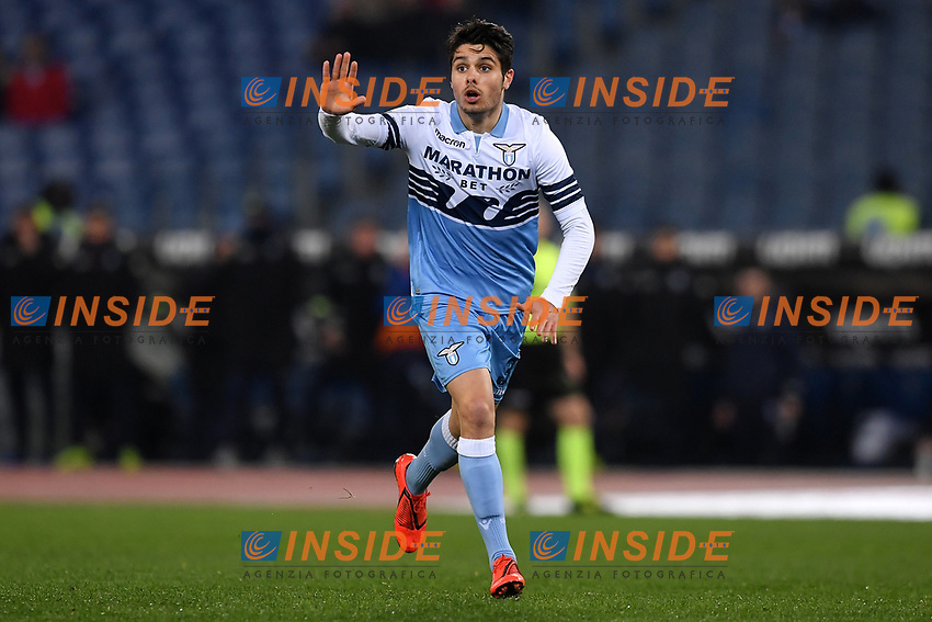 Pedro Neto of Lazio reacts during the Serie A 2018/2019 football match between Lazio and Empoli at stadio Olimpico, Roma, February 7, 2019 <br />  Foto Andrea Staccioli / Insidefoto