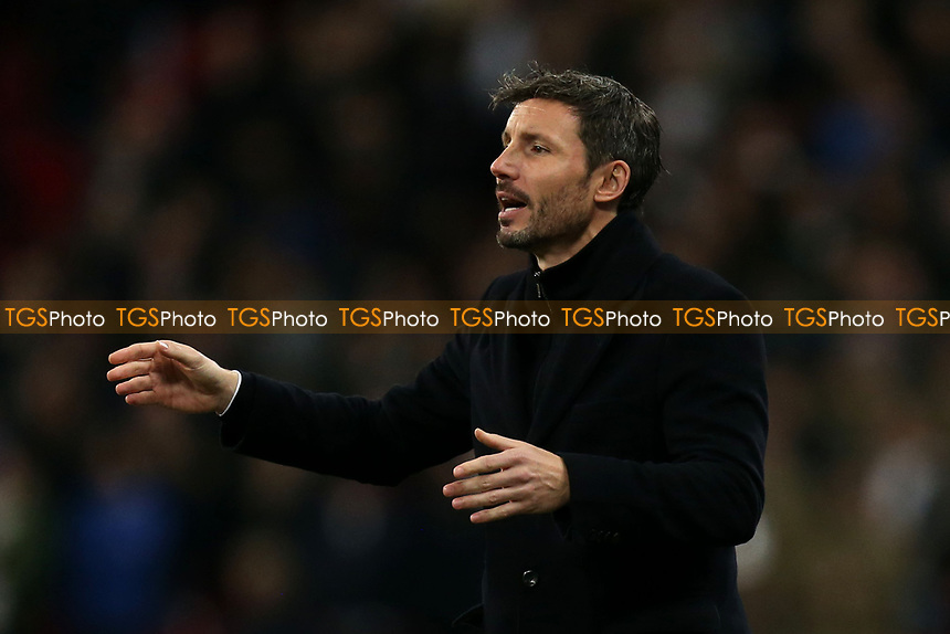 PSV Eifhoven manager Mark van Bommel during Tottenham Hotspur vs PSV Eindhoven, UEFA Champions League Football at Wembley Stadium on 6th November 2018