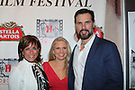 Colleen Zenk and Terri Conn and husband Austin Peck (star in Jack and Diane) - Hoboken International Film Festival opening night June 3 and continuing through June 9, 2016 at the Paramount Theatre in Middletown, New York honoring Martin Kove and Danny Aiello. (Photo by Sue Coflin/Max Photos)