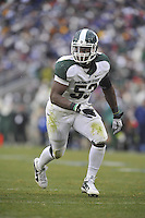 27 November 2010:  Michigan State LB Greg Jones (53)..The Michigan State Spartans defeated the Penn State Nittany Lions 28-22 to win the Land Grant Trophy at Beaver Stadium in State College, PA..