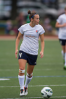Sky Blue FC defender Caitlin Foord (4).  In a National Women's Soccer League Elite (NWSL) match, Sky Blue FC defeated the Boston Breakers, 3-2, at Dilboy Stadium on June 16, 2013