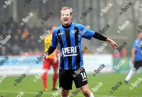 2014-11-30 / Voetbal / seizoen 2014-2015 / SV Bornem - Rupel-Boom / Ewout Denys<br /><br />Foto: mpics.be