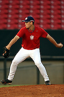 September 14, 2009:  Matt Boyd, one of many top prospects in action, taking part in the 18U National Team Trials at NC State's Doak Field in Raleigh, NC.  Photo By David Stoner / Four Seam Images