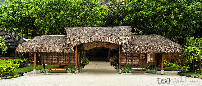 Famous Bloody Mary's in Bora Bora, French Polynesia