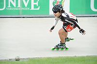 INLINE-SKATEN: HEERDE: Skeeler- en Skatecentrum Hoornscheveen, Europa Cup/Univé Skate Off, 05-05-2012, Suh Sohee KOR (#19 | Junior A), ©foto Martin de Jong
