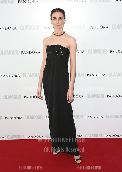 Erin O'Connor arriving for the 013 Glamour Women of The Year Awards, Berkeley Square, London. Picture by: Henry Harris / Featureflash