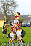 Abbeyfeale V Bruff Munster Women's Cup which took place on Sunday in the Grove Abbeyfeale.  Bruff's Niamh Gleeson making a spectacular catch in the match against Abbeyfeale.